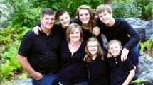 Pam Altendorf and Family