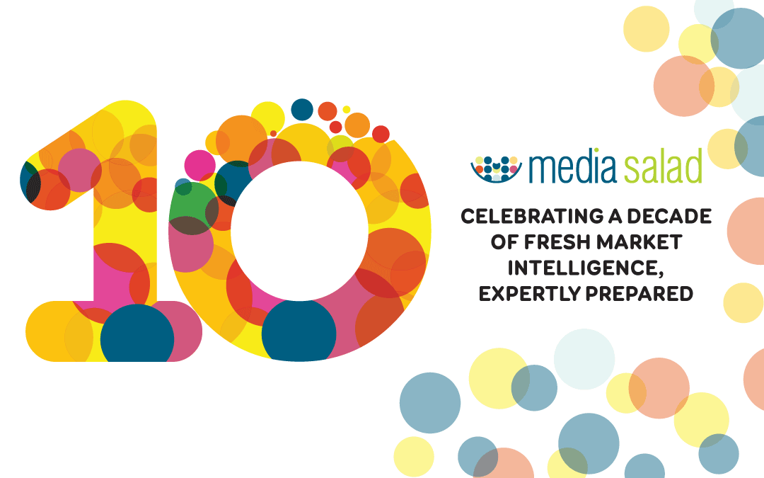 10 great Media Salad accomplishments in 10 years