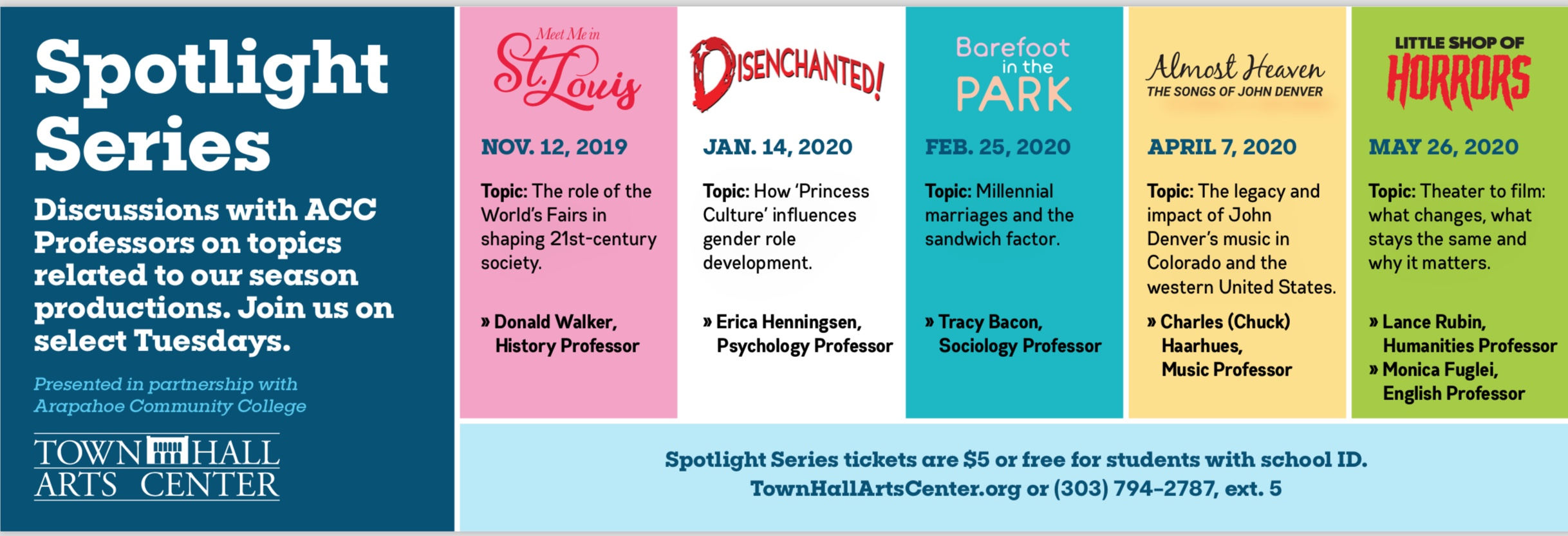Town Hall Arts Center Spotlight Series